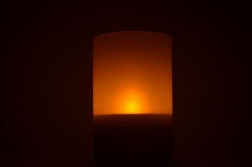 Wspaniały Lampa solarna Świeczka Znicz LED Centrum Energii Odnawialnej AH54